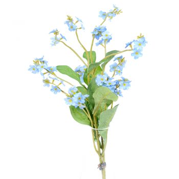 Artificial Forget-Me-Not Bundle
