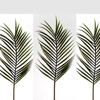 Artificial Kentia Palm Leaves