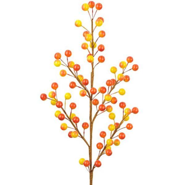 artificial yellow berry spray