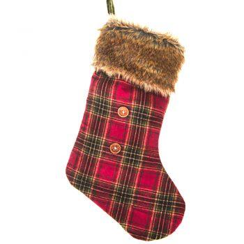 Tartan Christmas Stocking
