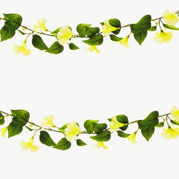 6ft Artificial Morning Glory Garland