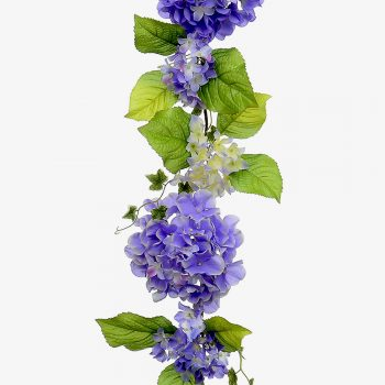 Artificial Hydrangea Flower Garland
