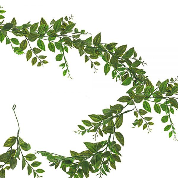 artificial laurel garland