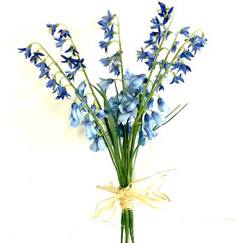artificial bluebells bundle