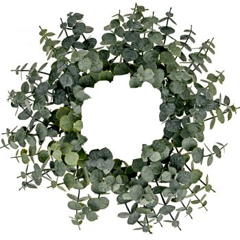 Artificial Prestige Eucalyptus Wreath