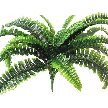 Artificial Large Boston Fern Bush