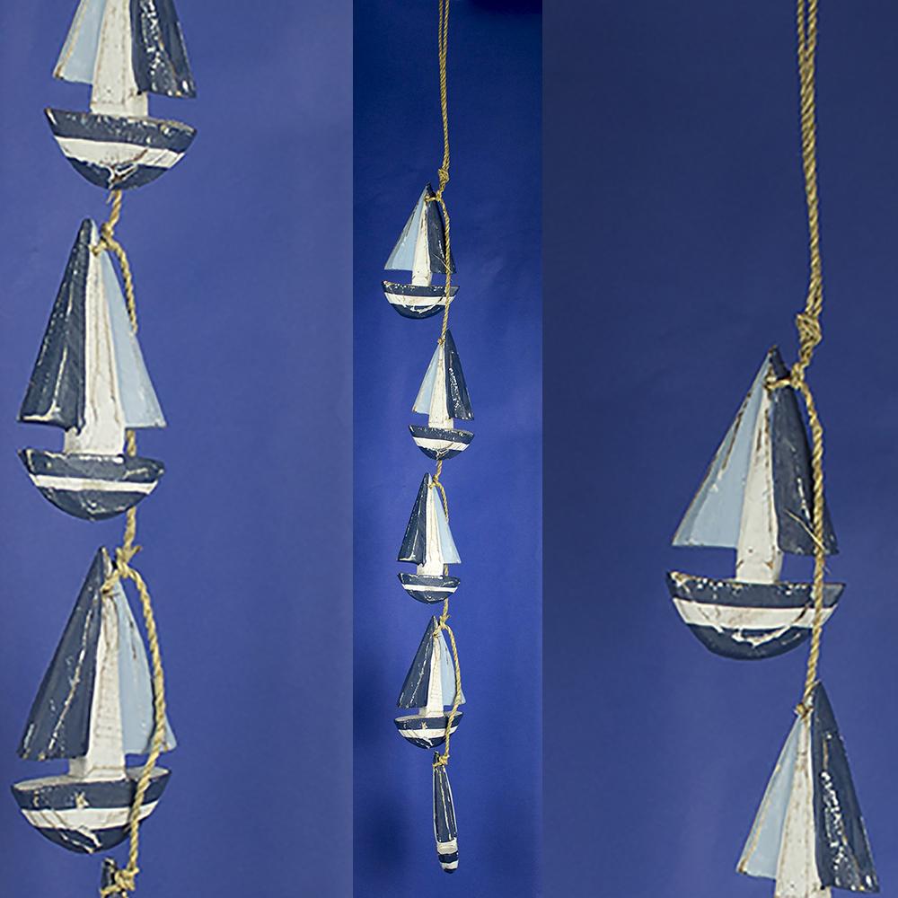 Boat Garland Rustic Yacht Garland Nautical Decorations