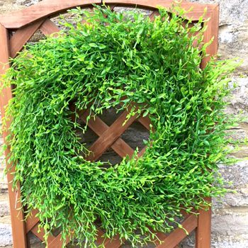 50cm artificial green wreath