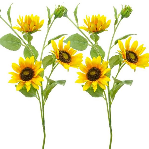 Pair-of-Artificial-Sunflowers-with-3-flower-heads