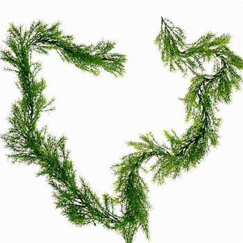 artificial fern garland