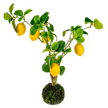 Artificial Lemon Fruit Tree