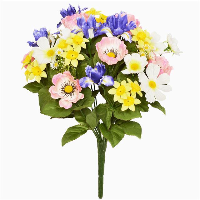 Spring Flower Bouquet Artificial Spring Flowers Shelf Edge Uk