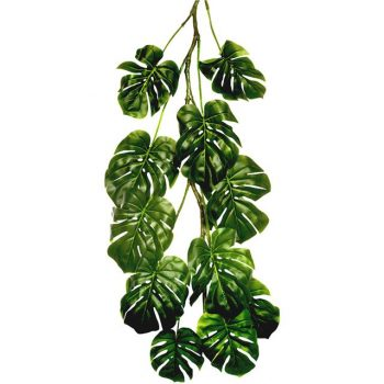 artificial philodendron hanging leaves