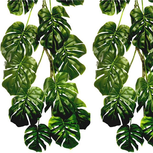 Artificial Philodendron Trailing Hanger 118cm Shelf