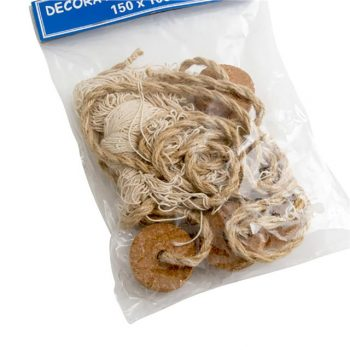 Decorative Netting - Natural Fishing Net with Corks