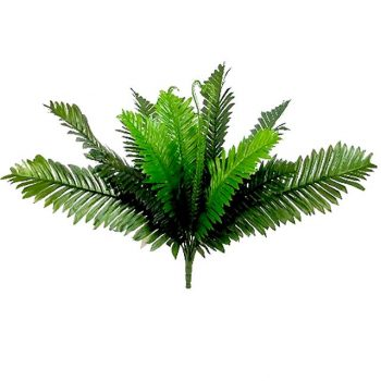 large silk Boston fern bush