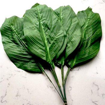 artificial aspidistra leaves