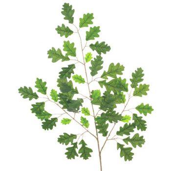 green oak artificial leaf spray