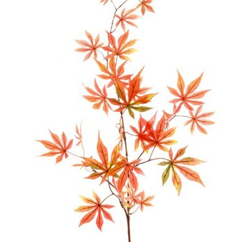 artificial Japanese maple leaf spray
