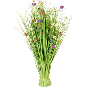 artificial summer flowers sheaf