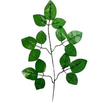 Artificial Rose Leaf Spray