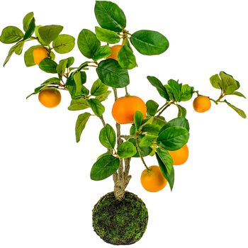 Artificial Orange Fruit Tree