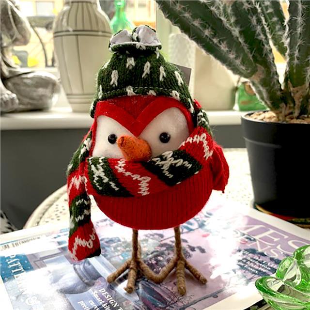 Large Christmas robin | Free standing Christmas robin ...