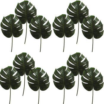 Artificial Split Philo Leaf Large