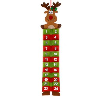 Reindeer Christmas Advent Calendar