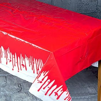 Halloween Table Cover Dripping Blood
