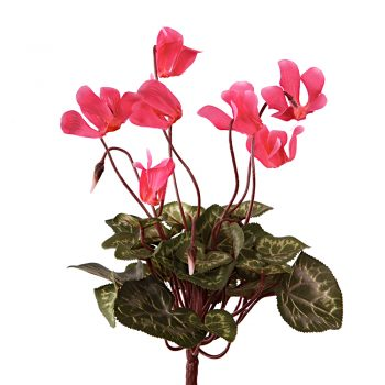 Artificial Cyclamen Plant Pink