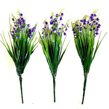 Artificial Purple Bluebell Flowers