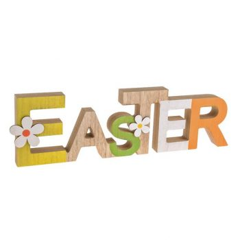 Wooden Easter Block Letters