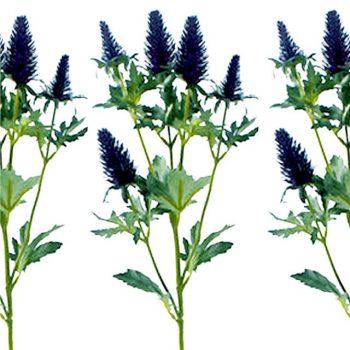 Artificial PurpleEryngium Spray