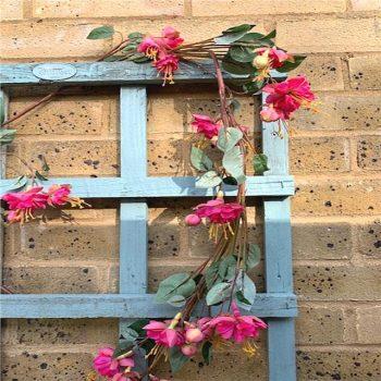 Artificial Pink Fuchsia Garland