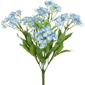 Artificial Forget-Me-Not Bush