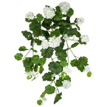 Artificial Trailing White Geranium