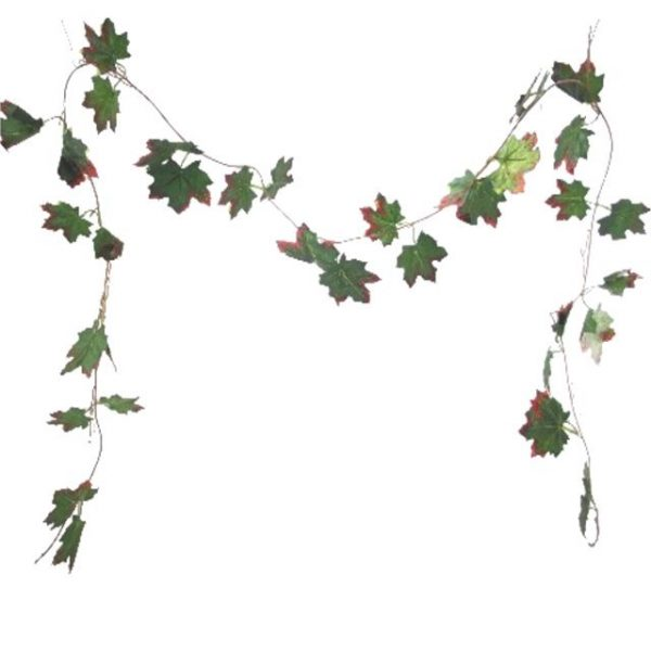 Pack of 5 Artificial Autumn Maple Leaf Garlands