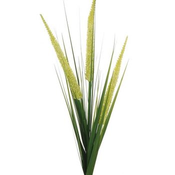 Large Artificial Tall Grass with Cream Reeds