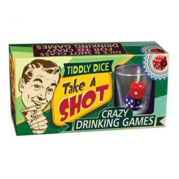 Take a Shot Crazy Adult Drinking Dice Game