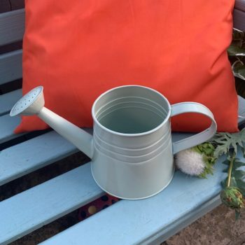 Vintage Metal Watering Can Country Kitchen Home Accessory Planter Vase