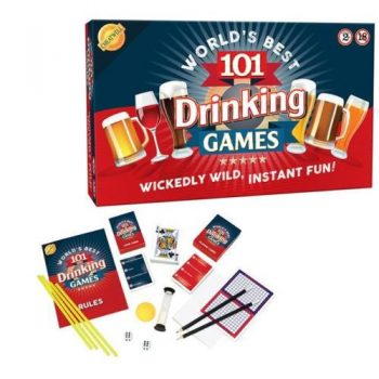 Wickedly Wild Worlds Best 101 Drinking Games Adult Board Game