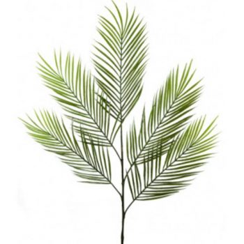 Artificial Areca Palm Tree Branch with 5 Leaves