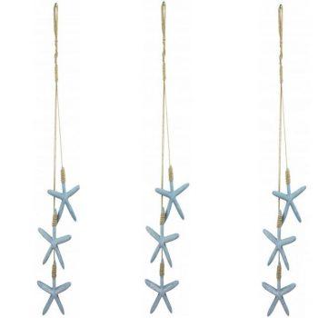 Nautical Seaside Starfish Hanging Decoration
