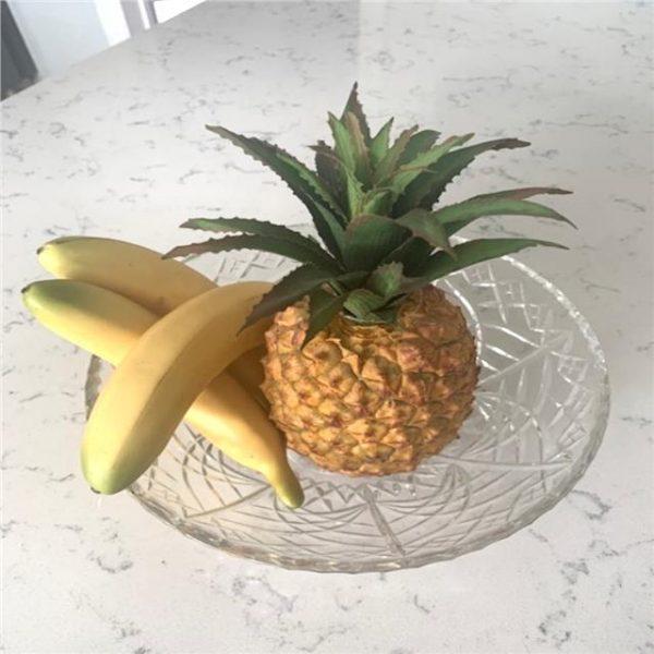 Set of 3 Artificial Bananas