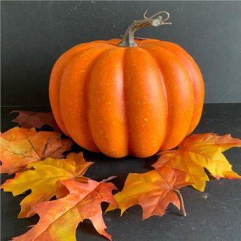 Giant Artificial Orange Pumpkin