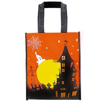 Haunted House with Ghost Trick or Treat Bag