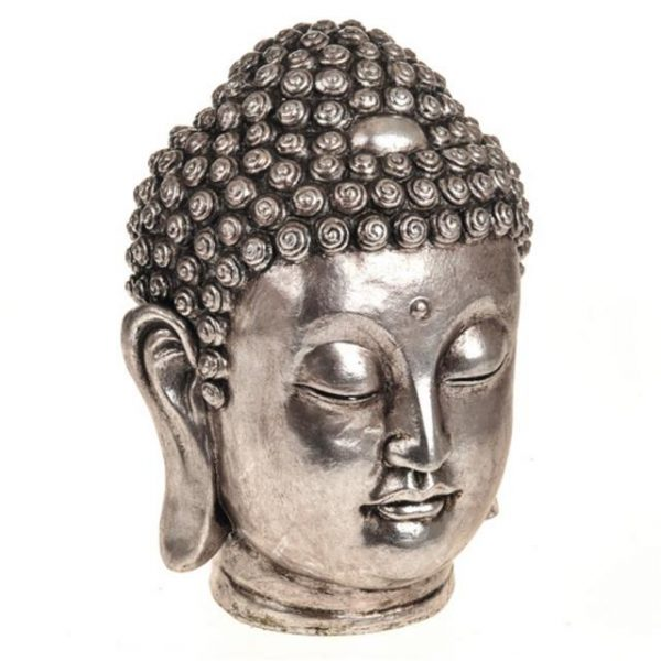 Nirvana Silver Buddha Head