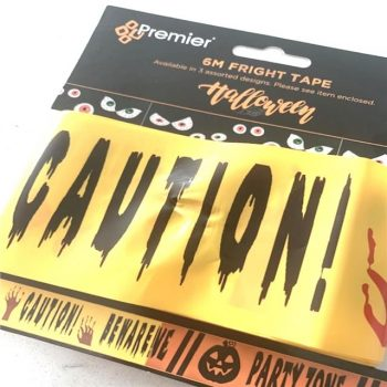 Caution Beware Fright Tape