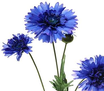 Artificial Cornflowers